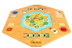 I would love to splurge and get this someday. We love to play Settlers of Catan and this table would be awesome!  Travelers Folding Table w/ Carrying Bag:Amazon:Toys & Games