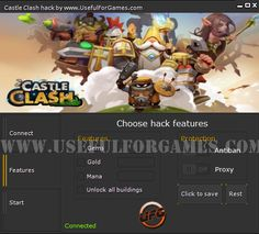 UsefulForGames team has prepared for you Castle Clash hack! Anyone can be the best in this super game! http://usefulforgames.com/castle-clash-hack