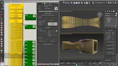 Sectioning 04: parametric arrays with para 3D in 3ds max