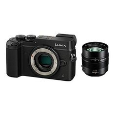Panasonic Lumix DMC-GX8 Mirrorless Micro Four Thirds Digital Camera with 42.5mm Lens (Black)
