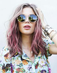 #pink #ombre #hair
