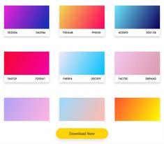 35+ Free Gradient Color Palette (Sketch Plugins) 2021 - HotSkills