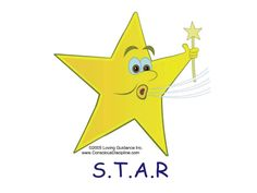 STAR Breathing = Stop Smile, Take a deep breath And Relax. Encourage belly breathing where the tummy goes out when the air goes in, and in when the air goes out. Also help children learn to exhale slower than they inhale. #iheartcd #SEL