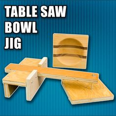 How to a Make Table Saw Bowl Jig. #woodworking #woodworkingprojects