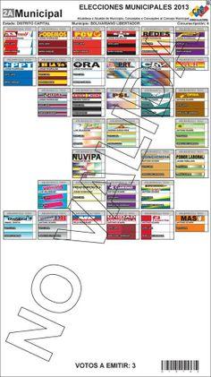 Elecciones 8-12-2013