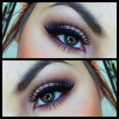Eye Makeup - smoky eyes - winged eyeliner