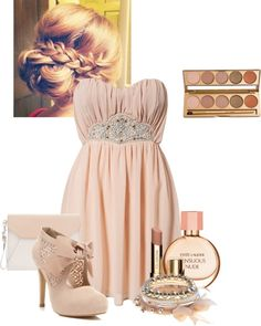 """""""Nude"""" by andreea-mitrescu ❤ liked on Polyvore"""