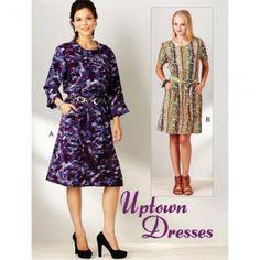Kwik Sew Pattern Misses Dress /XS-XL