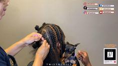 Cornrow Hairstyles For Men, Cornrows Braids For Black Women, Braids For Boys, Senegalese Twist Hairstyles, Braids Hairstyles Pictures, Black Girl Braided Hairstyles, Two Braids, Braid Styles For Men, Curly Hair Styles