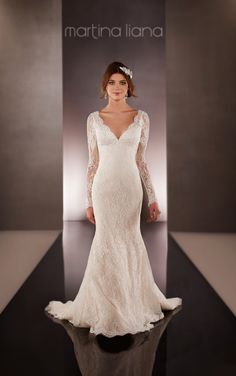 10 of the Best Wedding Gowns from the Martina Liana Collection. #weddings #dresses #designers http://buff.ly/1K11ggv