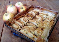 Tarte feuilles de brick aux pommes