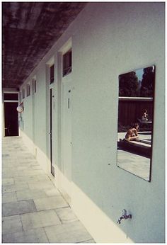 Luigi Ghirri, Hergiswill, from series Kodachrome History Of Photography, Color Photography, Film Photography, Street Photography, Luigi, William Eggleston, Venice Biennale, Great Photographers, Italian Artist