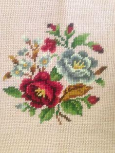 Ribbon Embroidery, Cross Stitch Embroidery, Cross Stitch Rose, Needlepoint, Needlework, Wool, Pattern, Hand Crafts, Herb