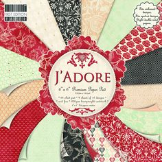 First Edition 6 x 6-inch J'Adore