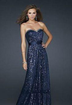 1f6a703796c prom dress prom dresses Navy Prom Dresses
