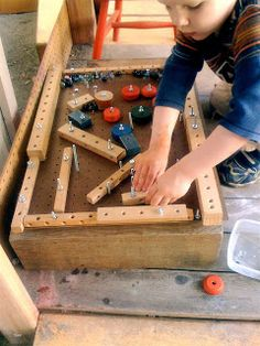 Get your kids away from the video games with this Homemade Pinball Machine. They will have a blast making and playing with this homemade toy. Let their creativity run wild while they design their own pinball machine.
