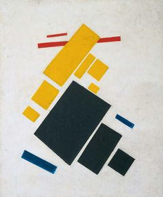 Suprematism: Airplane flying by Kazimir Malevich, 1915. Photo The Museum of Modern Art, Imaging and Visual Resources Department, Kate Keller.