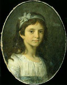 Portrait de Melle de Vellefrey, par Pierre-Paul Prud'hon, 1796