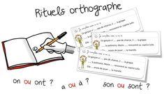 Rituels « orthographe » : les homophones grammaticaux   Bout de Gomme
