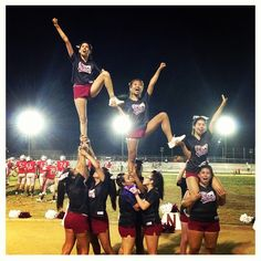my friday night  friday night lights ❤ cheers and bows