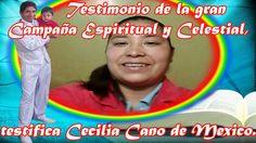 Testimonio de la Gran Campaña Espiritual y Celestial, testifica Cecilia ...