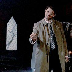 Misha Collins as Luci Castiel, Supernatural, Misha Collins, Real Life, Occult