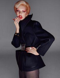 Bente Oort Channels David Bowie In Steven Meisel Images For British Vogue August 2019 — Anne of Carversville