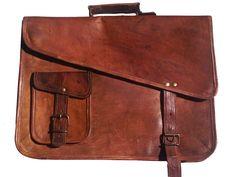 Dark brown waterproof bag for laptop