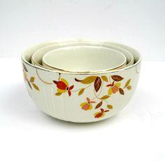 Vintage Hall China  - Jewel Tea/Autumn Leaf design