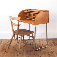 "Vintage ""Tri-ang"" Children's Roll Top Desk"
