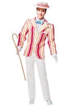 Mary Poppins Bert Doll | Barbie Collector (actor Dick Van Dyke), 2007