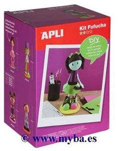 Kit fofucha monster Apli.
