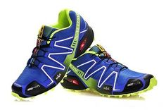 4de0c78cecd2 Buy Salomon Speedcross 3 CS Mens Blue GreenYellow Cheap from Reliable Salomon  Speedcross 3 CS Mens Blue GreenYellow Cheap suppliers.
