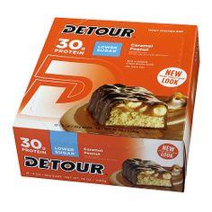 Lower Sugar Caramel Peanut 30g of protein box