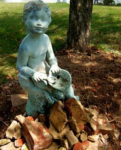 Restoring my Garden Fountain with Remnants of the McIntosh School Building | Home of the Classics