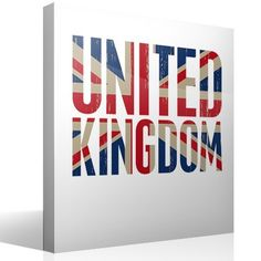 Vinilos Decorativos: United Kingdom #londres #decoracion #bandera #TeleAdhesivo