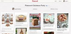 How to Throw a Pinterest Party: First, set up a Pinterest board for your guests to view recipe and craft ideas.