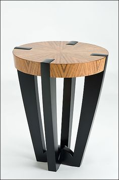 Compass Side Table by Enrico Konig on Artful Home.