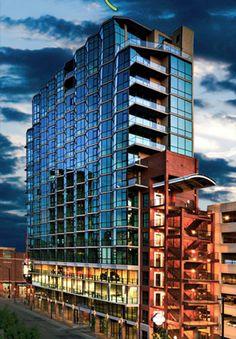 The Aspen Lofts - premier high-rise condos located in upscale BoDo district!