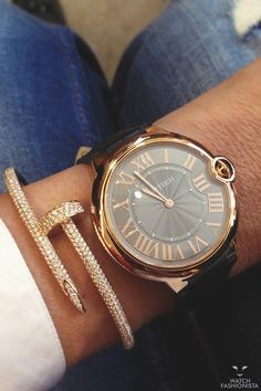 Cartier, diamonds and gold