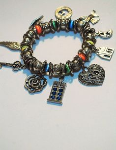 Cat's Eye Doctor Who Inspired Charm by FeathersButterflies on Etsy