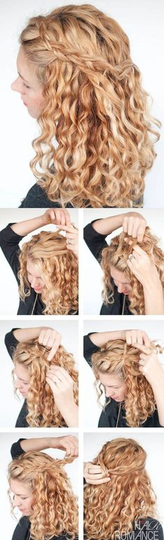 Hairstyles that will look in your curly hair # hairstyles – Beauty Hacks Curly Hair Cuts, Curly Hair Styles, Virgin Hair, Hair Romance, Curly Girl Method, Messy Hairstyles, Hair Designs, Hair Inspo, Hair Looks