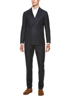 Deconstructed Double Breasted Suit by Suitsupply on Park & Bond