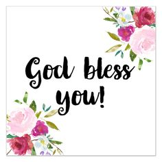 God Loves You, Jesus Loves, God Bless You Quotes, Thank You Wishes, Image Deco, Good Day Quotes, Bible Teachings, Good Morning Greetings, Floral Wall Art