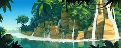 Balloon Tree - Marcin Jakubowski digital painting