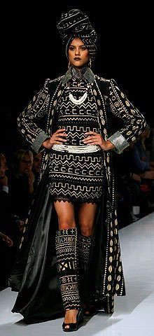 African Haute Couture | African designers make haute couture debut in Rome -- china.org.cn