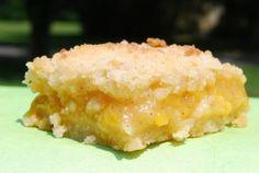 Peach Crumb Bars - Sweet Treat Eats