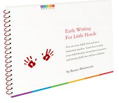 Early Writing for Little Hands ebook {introducing letters, pencil grip, & 52 tracing worksheets}