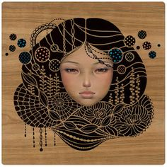 nuncalosabre.Pintura e Ilustración - Audrey Kawasaki