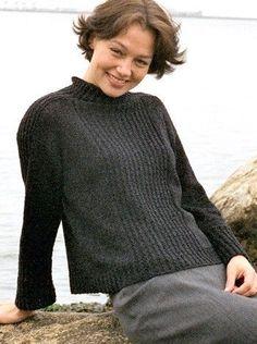 Fair Isle Knitting Patterns, Knitting Designs, Diy Pullover, Knitting Magazine, Cool Sweaters, Pulls, Free Knitting, Wool Shop, Knitwear